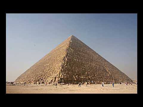 Was World repopulated from a boat or was 'ARK' something else? GIZA PYRAMID?