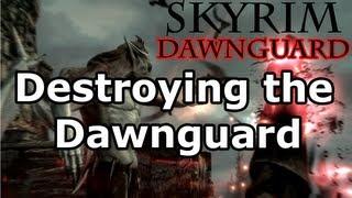 Skyrim: Deceiving the Herd Quest - Vampire Lord (Dawnguard