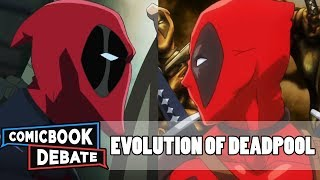 Evolution of Deadpool in Cartoons in 3 Minutes (2017)