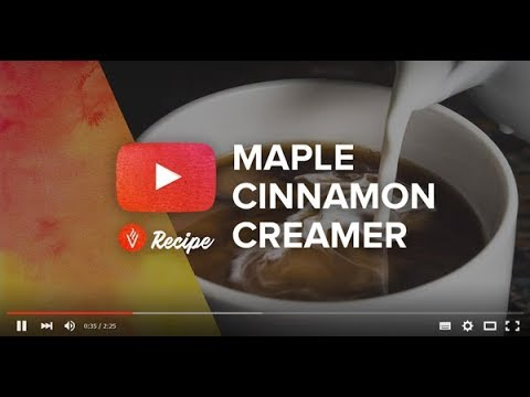 VitaCup Maple Cinnamon Coffee Creamer