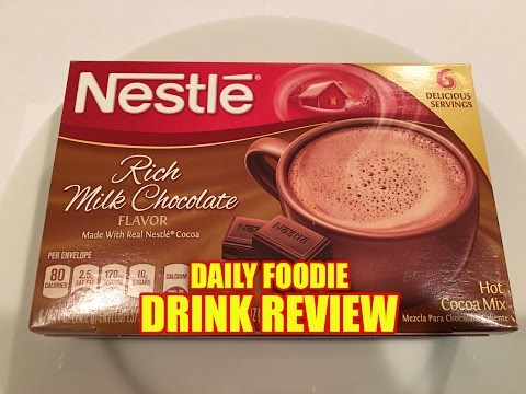 Nestle Hot Cocoa Mix Review - Rich Milk Chocolate Flavor