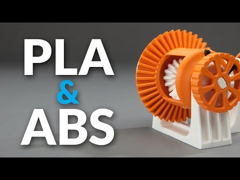 PLA vs ABS   What's the Difference for 3D Printing?