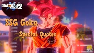 Dragon ball xenoverse 2  XB1  All of SSG  Goku