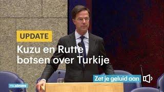 Kuzu En Rutte Botsen Over Turkije - Rtl Nieuws