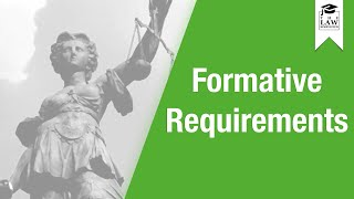 Download Contract Law - Formative Requirements Video