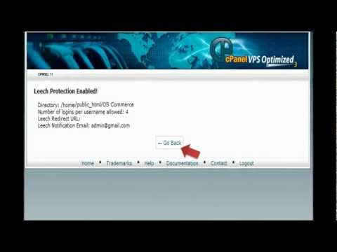 How to use Leech Protection in HostGator cPanel - HostGator Tutorial