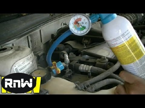 How to Add Freon to a Car and Manually Engage AC Compressor Clutch