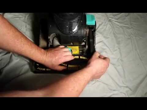 How to Replace Vacuum Belt and Bristles- DIY Repair for Eureka Envirovac