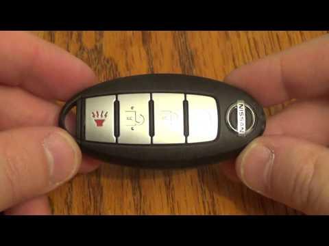 DIY - Nissan Key Fob Battery Change / Replacement Altima / Maxima / Senta