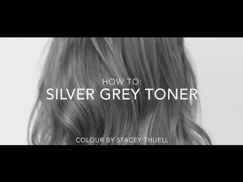 How to get a Perfect Silver Grey Toner using Fanola