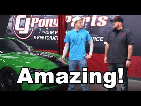 CJ Pony Parts Took My 2019 Ford Mustang GT... AND DID THIS!!!