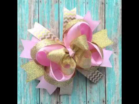 Handmade hair bows, handmade baby headbands , handmade head