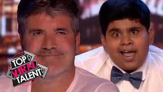 SIMON COWELL is SO INSPIRED & MOVED by these KID DANCERS!