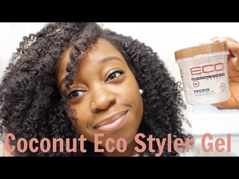 Twist Out Using COCONUT ECO STYLER GEL!!! | NATURAL HAIR