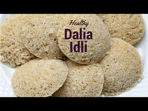 Dalia or Broken Wheat Idli