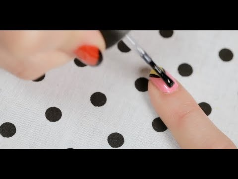 How to Create a Neon Swan Design | Nail Art