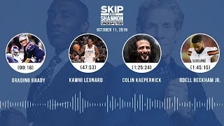 UNDISPUTED Audio Podcast (10.11.19) with Skip Bayless, Shannon Sharpe & Jenny Taft | UNDISPUTED