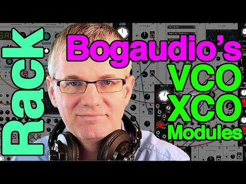 Bogaudio's XCO and VCO Modules for VCV Rack Tutorial