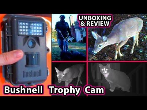 Bushnell Trophy Cam UNBOXING 6 Mega Pixel HD 8 Bone Collector NatureView