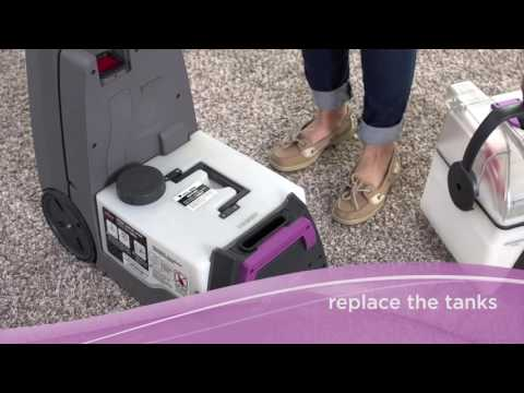 How to Use the Pawsitively Clean® by BISSELL® Rental Carpet Cleaning Machine