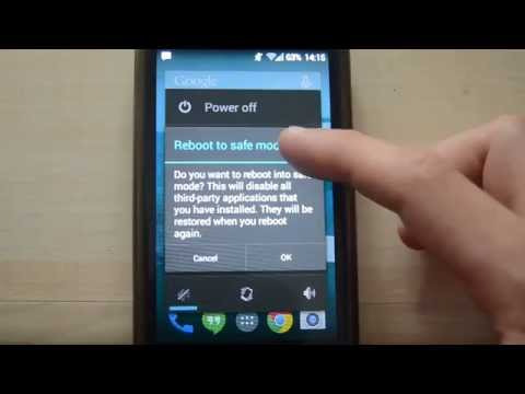 How to boot the Samsung Galaxy S3 mini into Safe Mode
