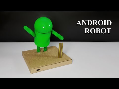 How to make Dancing Android Robot from Cardboard