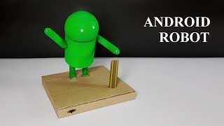 How To Make A Dancing Robot From Cardboard - Diy Robot
