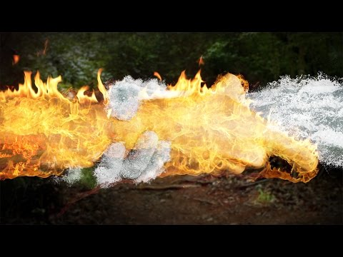 Elements Turorial - How to Turn Anything Into Fire or Water | Adobe Photoshop CC