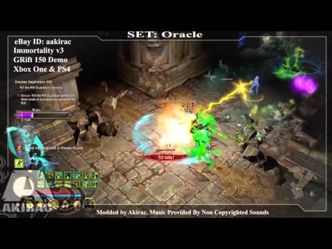 Ps4 Diablo 3 Mods Xbox One - Immortality V3 Oracle GRIFT 150  - http://www.akirac.com
