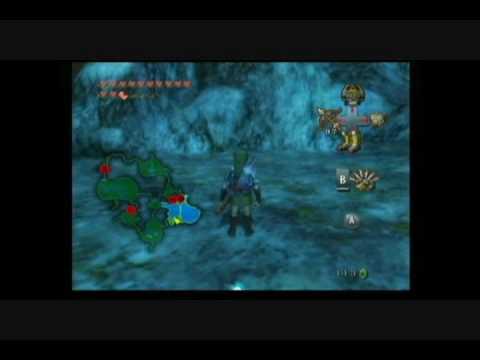 Zelda Twilight Princess - How to catch all 24 golden bugs Wii