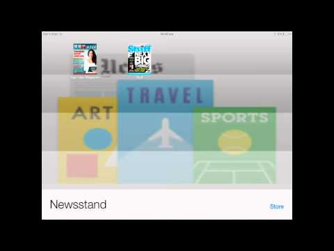 HOW TO GET MAGAZINES FOR FREE IN NEWS-STAND !! FREE SUBSCRIPTIONS TO APPLE MAGAZINES !
