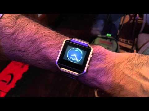 Fitbit Blaze Hands-On