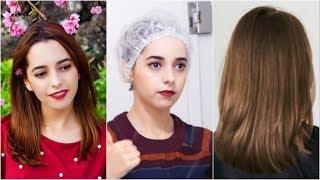 كيف تحصلين على شعر ناعم مثل الكوريين !🇰🇷 أقوى وصفة كيراتين منزلية !😱