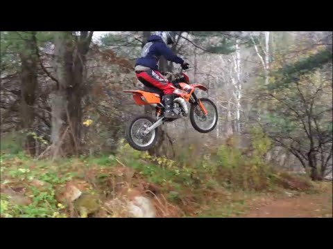 backyard dirt bike jump
