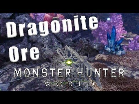 Dragonite Ore farming Monster Hunter World - Dragonite Ore MHW