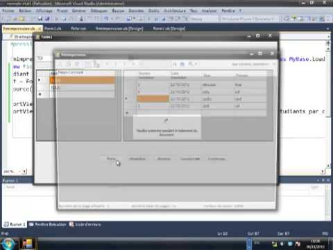 exemple complet crystal report FOR VISUAL STUDIO
