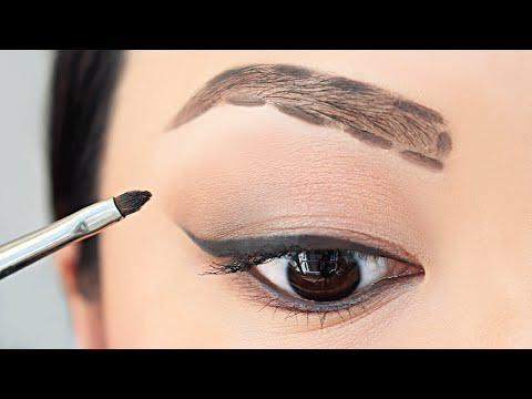 HOW TO: Fill In Your Eyebrows For Beginners | chiutips