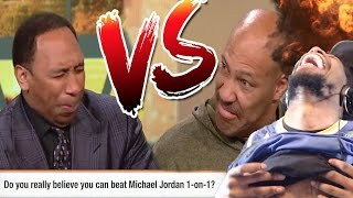 """LMAOO """"THERE IS SOMETHING WRONG WITH YOU!"""" LAVAR BALL vs STEPHEN A SMITH BATTLE REACTION!"""