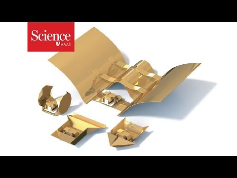 Origami robots transform like Optimus Prime