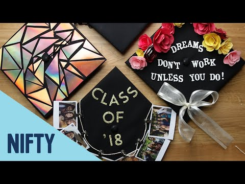 4 Fun Ways To Decorate Graduation Caps