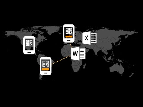 Use Your Smartphone as a Barcode Scanner for Word and Excel