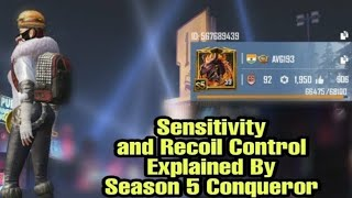 Best Recoil Control Tips And Sensitivity Set Up With
