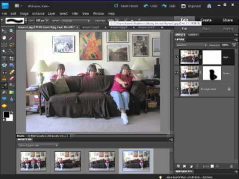 Photoshop Elements: Using Layer Masks for Composite Images