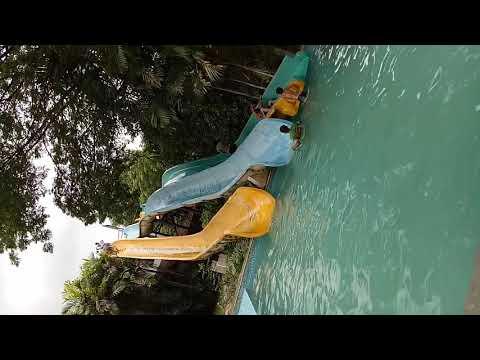 Fun at resort