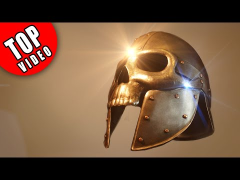 Watch this Guy Build a Helmet