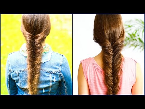 How to FISHTAIL BRAID for Beginners+Messy version★ DIY Step by Step Tutorial ★