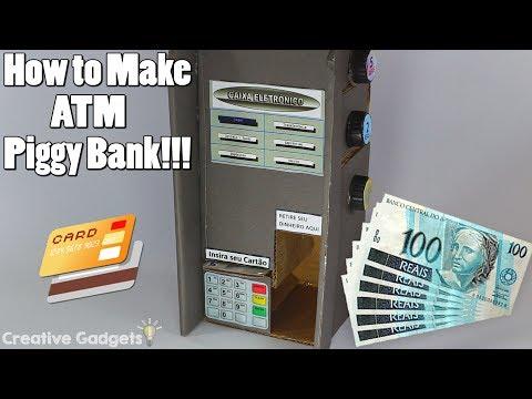 How to Make ATM Piggy Bank