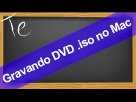 Dica rápida: Como gravar DVD .iso no mac - Disk Utility