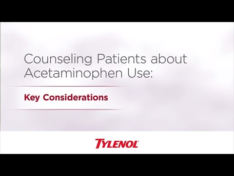 Acetaminophen Patient Education | TYLENOL® Professional