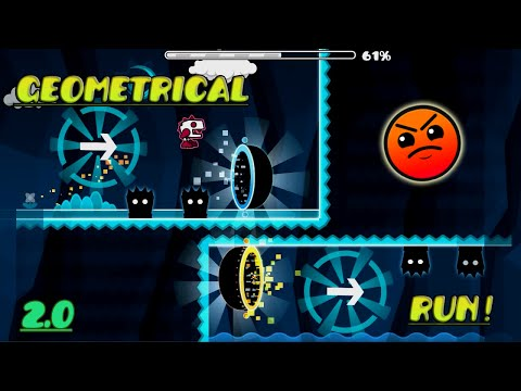 Geomtry Dash [2.0] | Geometrical Run by Noriega ( 2 coins ) | Online Levels